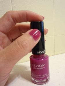 Revlon Colorstay Longwear Nail Enamel in Rich Raspberry