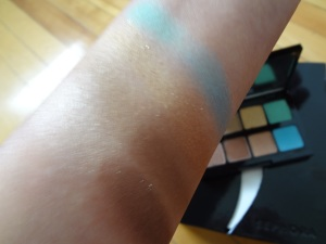Sephora Color Bronze Eyeshadow swatch