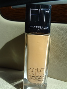 Maybelline Fit Me foundation 315