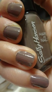 nail polis tough taupe