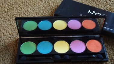 NYX 5 color caribbean collection