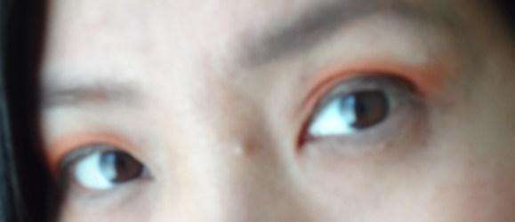 NYX eye makeup look