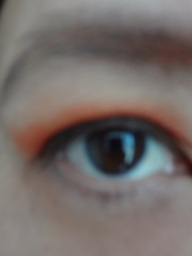 NYX orange shadow