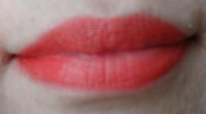 secy orange lips