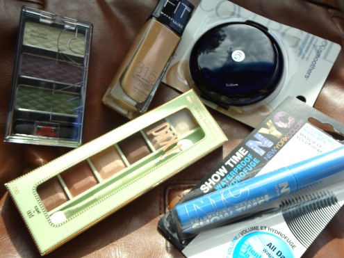 Target mini makeup haul