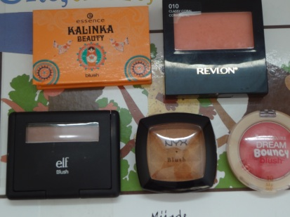 Top 5 Fave blushes blog