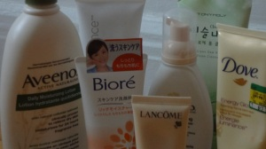 body wash and skin care