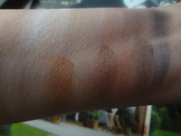 color swatches lorac