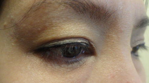 everyday mineral finish look