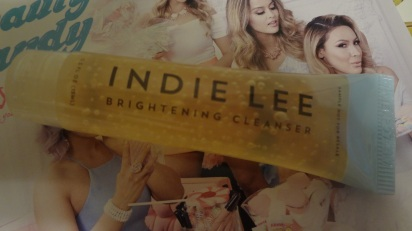 INdie Lee cleanser