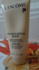 Lancome royal body lotion