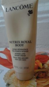 Lancome royal body lotion