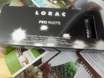 Lorac palette packaging