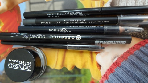 Top 5 faves eyeliners