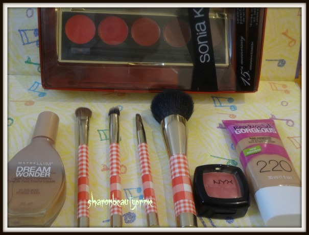 Beauty haul Target-pic