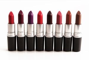 mac lipsticks matte