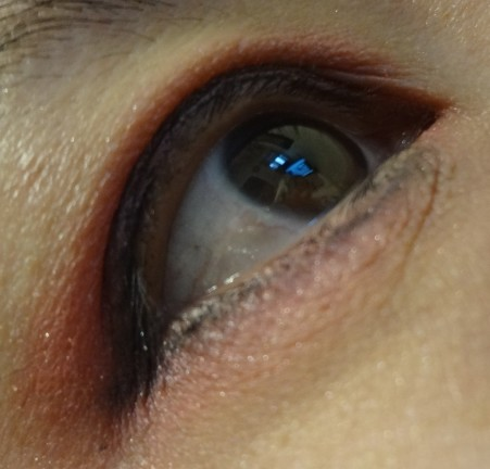 red eyelook