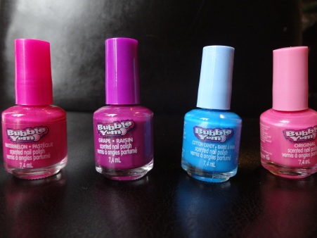 bubble gum nail polish