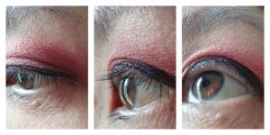 mega pro shadow marsala eye look