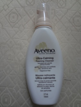 aveeno ultra calming cleanser