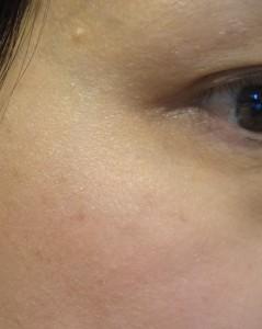 coralita blush on cheek
