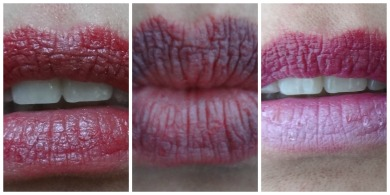 more of ombre lips look