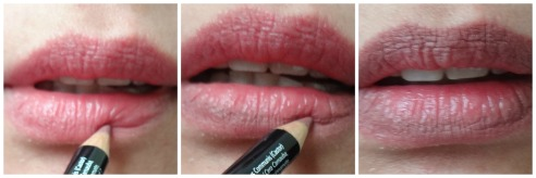 step 1 ombre lips
