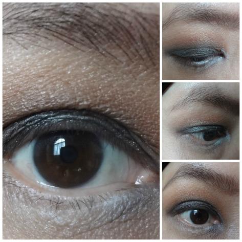 50 shades eyelook