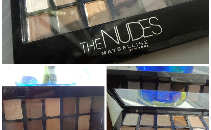 Maybelline|The Nudes Eyeshadow Palette|REVIEW