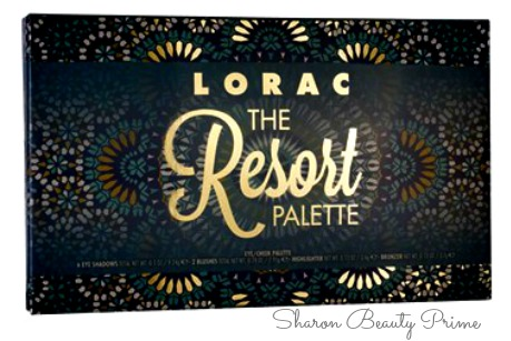 lorac resort palette