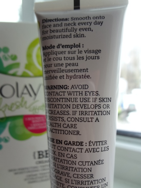 olay ingredient