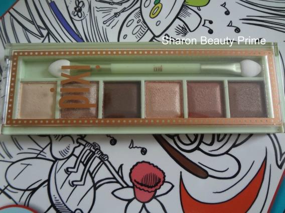 pixi bronzer shadows palette