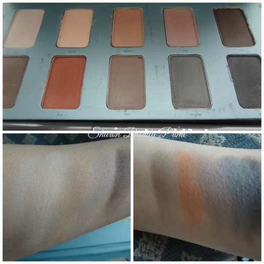 color swatches in the know stila