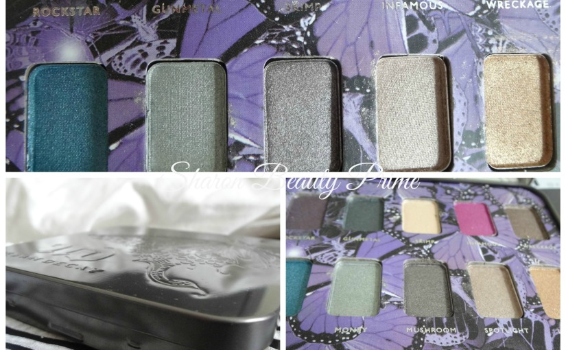 The Urban Decay Mariposa Palette|Swatches|Review