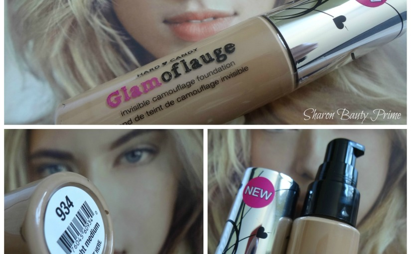 NEW Glamoflauge Foundation by Hard Candy|Review