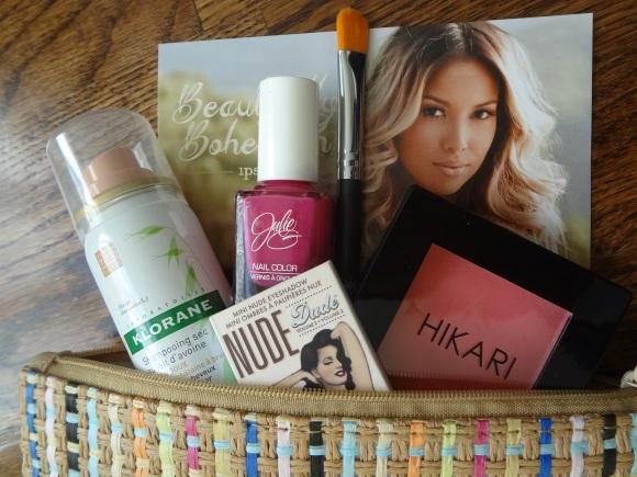 ipsy glam bag - sharon beauty prime