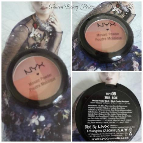 nyx mosaic blush