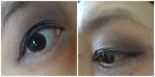 purple eyelook