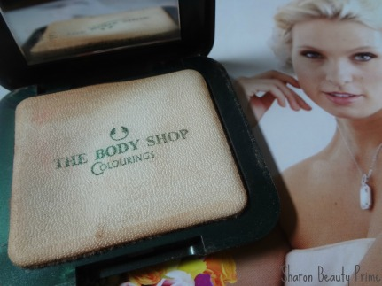 body shop compact powder
