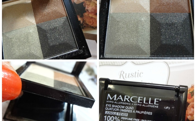 Marcelle Eyeshadow Quad| Review & Swatches