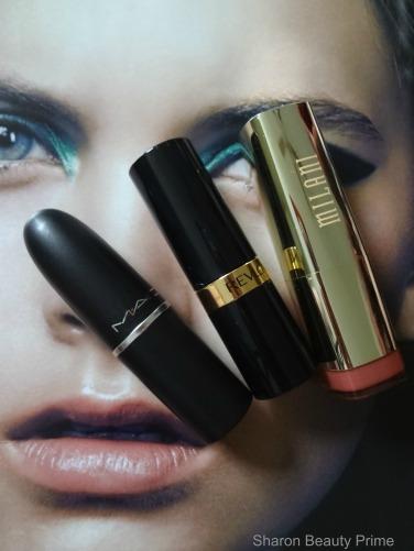 top 3 lipsticks - sharon beauty