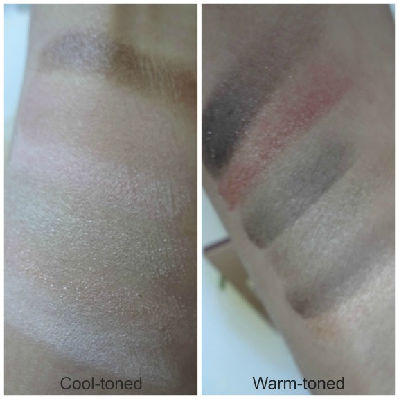 color swatch the blushed nudes