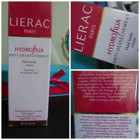 lierac body cream