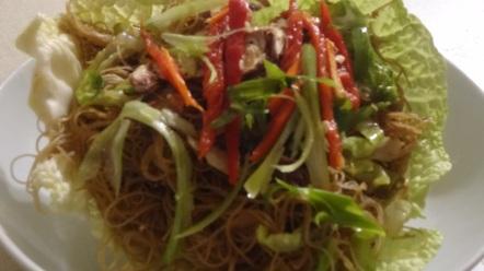 sty fried noodles