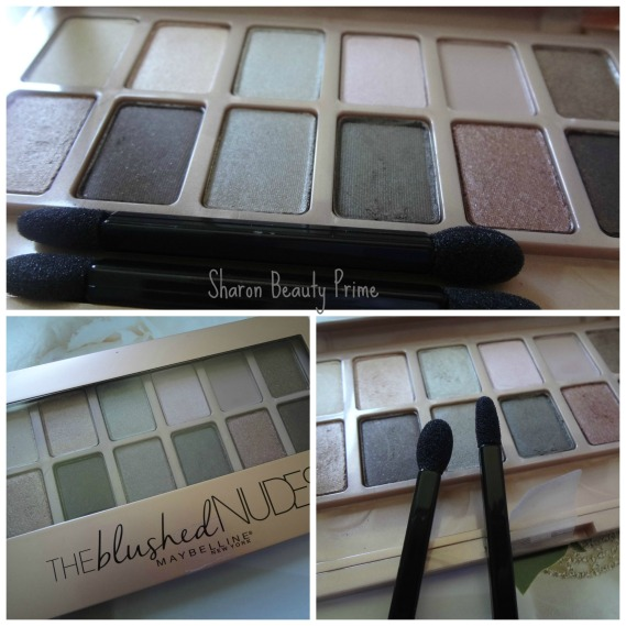 the blushed nudes shadow palete