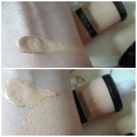 wnw color swatch foundation