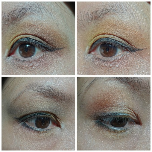 yellow eye makeup 2