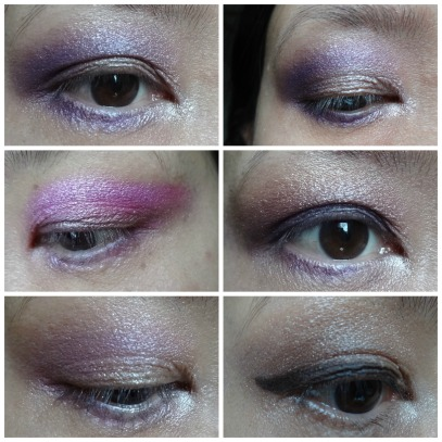 bh eye makeup look witht wild at heart