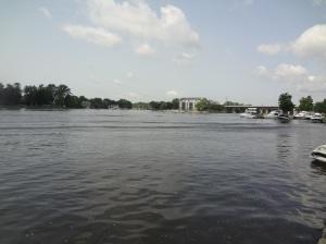 Weekend boating