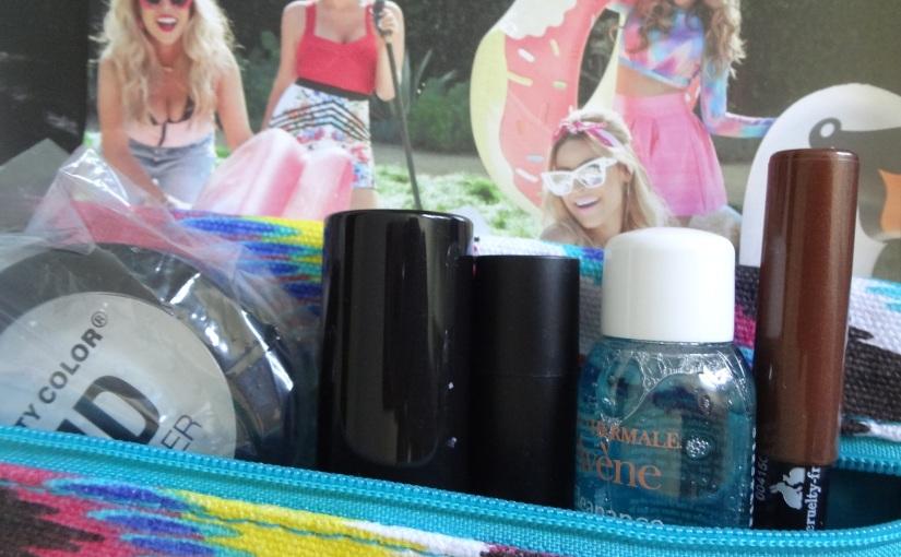 Ipsy July Glam Bag –Unbagged